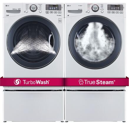 LG LG4PCFL27E2PEDWKIT9 Washer and Dryer Combos