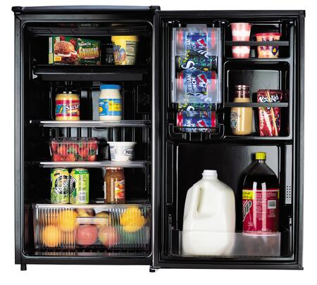 Sanyo Sr4433s Compact Refrigerator With 4 4 Cu Ft