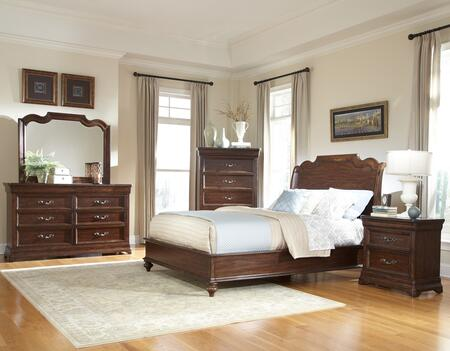 American Woodcrafters 8000QS4SET Queen Bedroom Sets