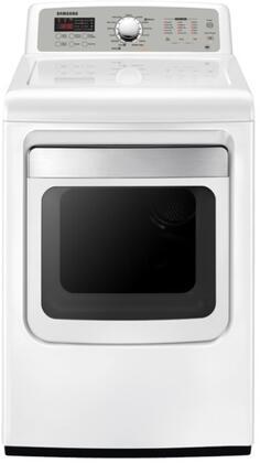 """Samsung Appliance DV5471AGW 27"""" Gas Dryer"""