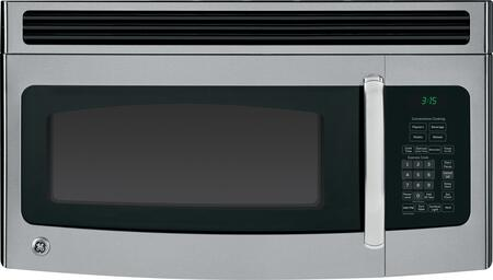 GE JNM3151RFSS 1.5 cu. ft. Over the Range Microwave Oven with 300 CFM, 950 Cooking Watts, in Stainless Steel