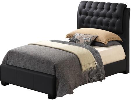 Glory Furniture G1500CTBUPCHDMTVB G1500 Twin Bedroom Sets