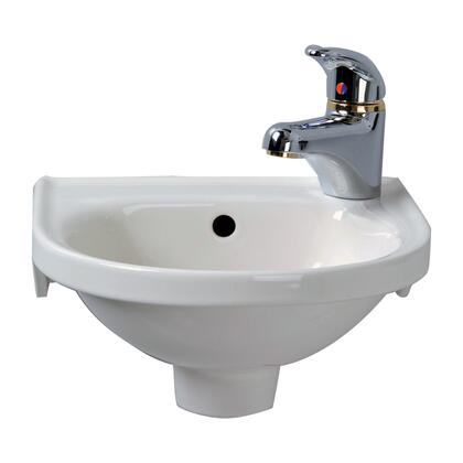 Barclay 4521WH White Sink
