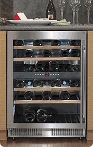 """Dacor EF24LWCZ2SS 23.625"""" Built-In Wine Cooler"""