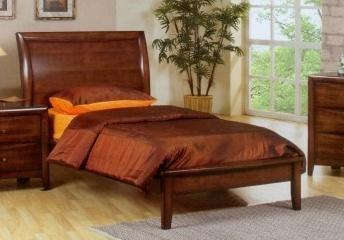 Coaster 400281F Hillary and Scottsdale Series  Full Size Platform Bed