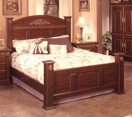 Sandberg 174G Renaissance Marble Series  Queen Size Panel Bed