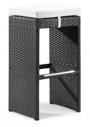 Zuo 701230 Agadir Series  Bench