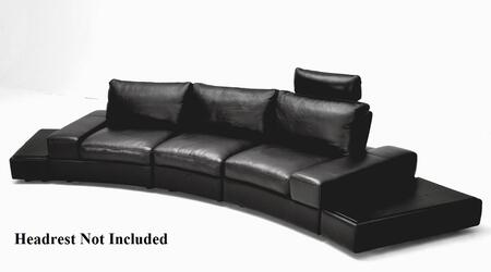 VIG Furniture VGKK1295BOBLK Modern Leather Living Room Set
