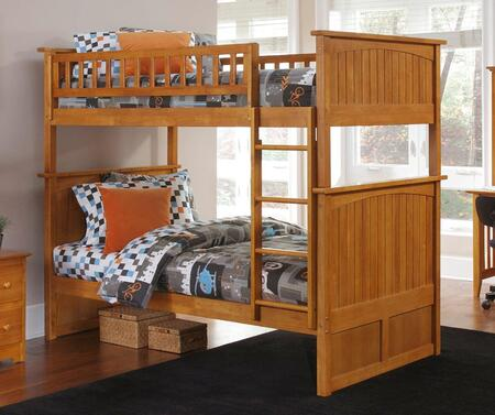Atlantic Furniture AB59107  Twin Size Bunk Bed