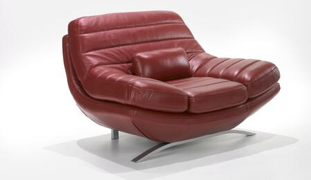 Armen Living LC85531RE Riviera Series  in Red