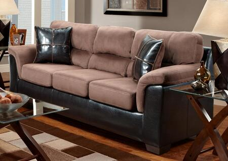 Chelsea Home Furniture 6203 Verona IV Annabelle Sofa, with 1.8 Density Foam Cushion, Hardwood, Softwood and Engineered Wood Construction, and Polyester Upholstery
