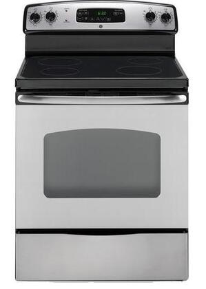 GE JB620SRSS Electric Smoothtop 4 No Yes Freestanding Range |Appliances Connection