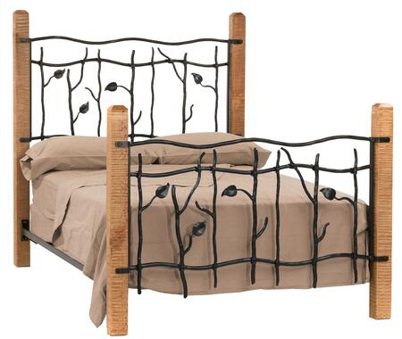 Stone County Ironworks 900996  King Size HB & Frame Bed