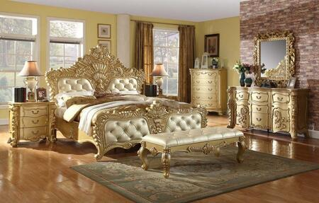 Meridian ZELDAKPBDMN Zelda King Bedroom Sets