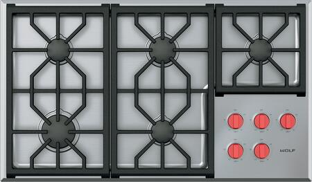 Wolf Cg365ps 36 Inch Gas Sealed Burner Cooktop