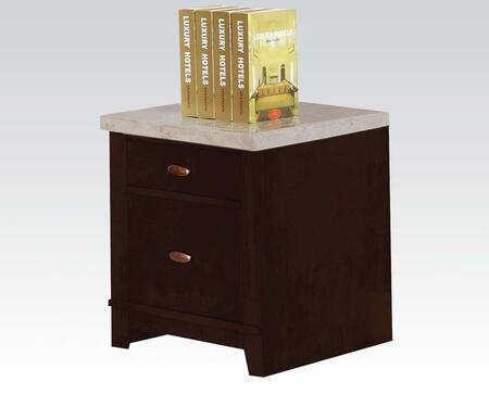 "Acme Furniture 92010 18"" Wood Transitional File Cabinet"