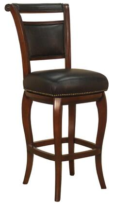 American Heritage 130854 Residential Leather Upholstered Bar Stool