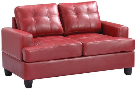 Glory Furniture G589AL Bycast Leather Stationary Loveseat