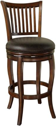 American Heritage 130902SD Maxwell Series Residential Bonded Leather Upholstered Bar Stool