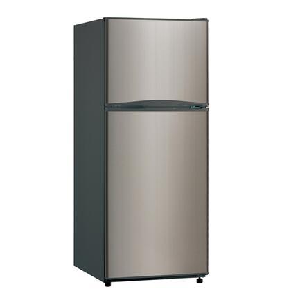Avanti FF994PS Freestanding Top Freezer Refrigerator with 10.1 cu. ft. Total Capacity 3 Glass Shelves 2.5 cu. ft. Freezer Capacity