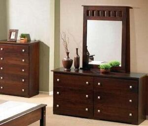 Donco 109E  Rectangular Protrait Dresser Mirror