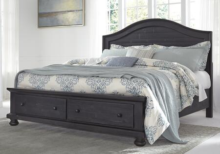 Signature Design by Ashley B63556S5897S Sharlowe Series  King Size Storage Bed