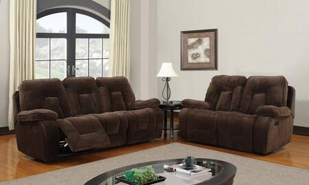 Global Furniture USA U3090ChampionChocSL Living Room Sets