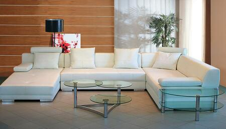 3334 white laf chaise