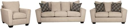 Milo Italia MI7919SLCPUTT Carley Living Room Sets