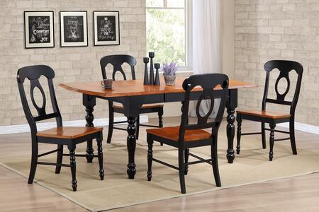 Sunset Trading DLUTDX3472C50BCH5PC Sunset Selections Dining