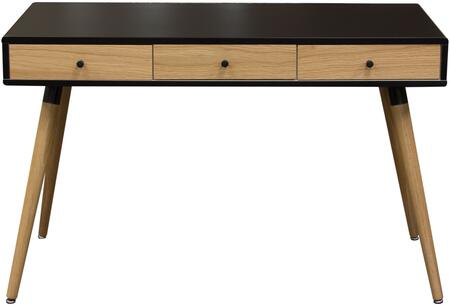 Diamond Sofa SONICDESKBL Sonic Series Writing  Wood Desk