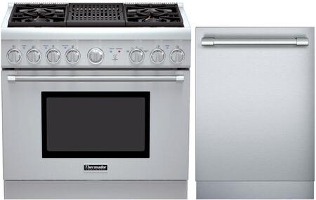 Thermador 716474 PRO Harmony Kitchen Appliance Packages | Appliances ...