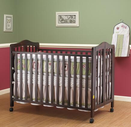 Orbelle 374X Lisa Two Level Full Size Folding Crib in