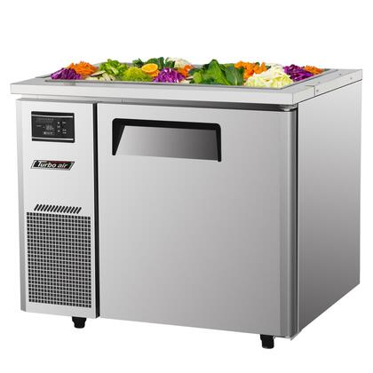"Turbo Air JBT36 35.37"" Freestanding Cold Food Table"