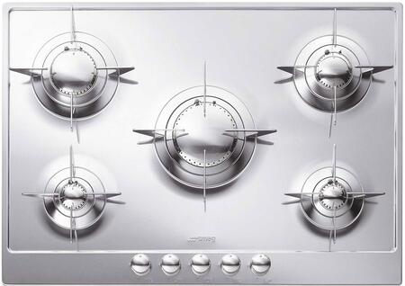 Smeg PU75 Piano Design Series Gas Sealed Burner Style Cooktop