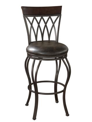 American Heritage 126915PP Palermo Series Residential Leather Upholstered Bar Stool