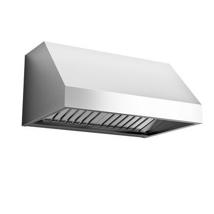Falmec FP18P Professional Wall Mount Range Hood with 600 CFM, LED Lighting, Slider Control and Baffle Filters in Stainless Steel