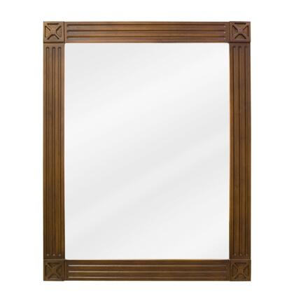 Bath Elements MIR047 Hamilton Series Rectangular Portrait Bathroom Mirror