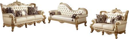 Meridian MER3PCSTLTDKIT1 Bennito Living Room Sets