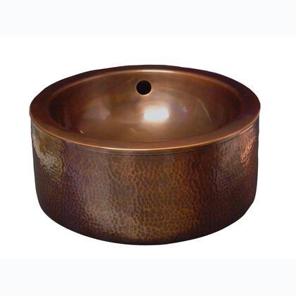 Copper Vessel Front View