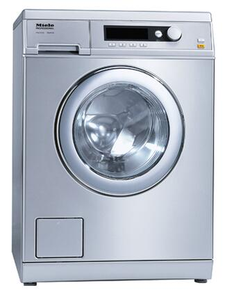 """Miele PW6065 24"""" Little Giant Front Load Washer with Large LCD Display, 15 lbs. Load Capacity, Automatic Load Control for Main Wash and Rinses, Honeycomb Drum Light and 5,000-Watt Heating Element"""