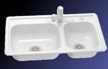 Lyons DKS02R335 Kitchen Sink