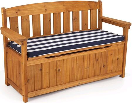 KidKraft 108 Children Wood Frame Armed Patio Benches