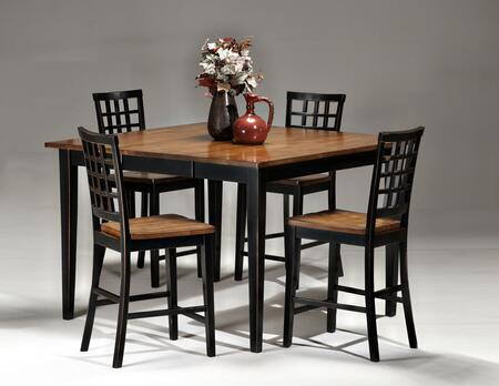 Intercon Furniture ARTA54541854GBLJ Arlington Dining Room Se