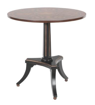 Gail's Accents 37003LT Mucia Series Contemporary Round End Table
