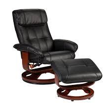 Holly & Martin UP58XXRC Bonded Leather U-Base Recliner and Ottoman