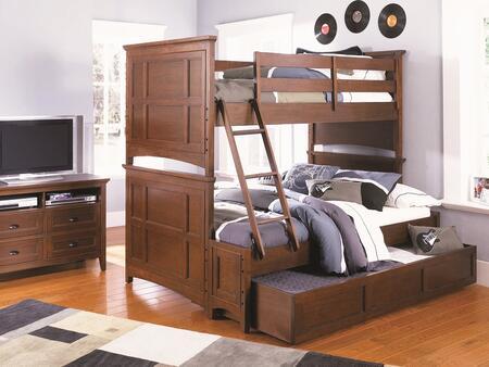 Magnussen Y187370K2 Riley Series Childrens Full Size Bunk Bed