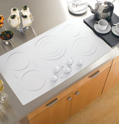 GE Profile PP962TMWW Electric Cooktop |Appliances Connection