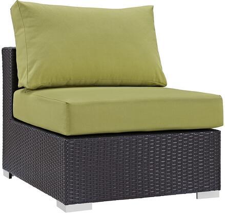 Modway EEI1910EXPPER Convene Series  Aluminum Frame  Patio Chair