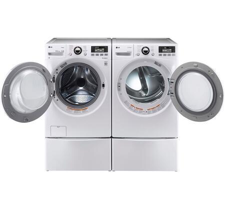 LG WM3470HWAPEDPAIR2 TurboWash Washer and Dryer Combos